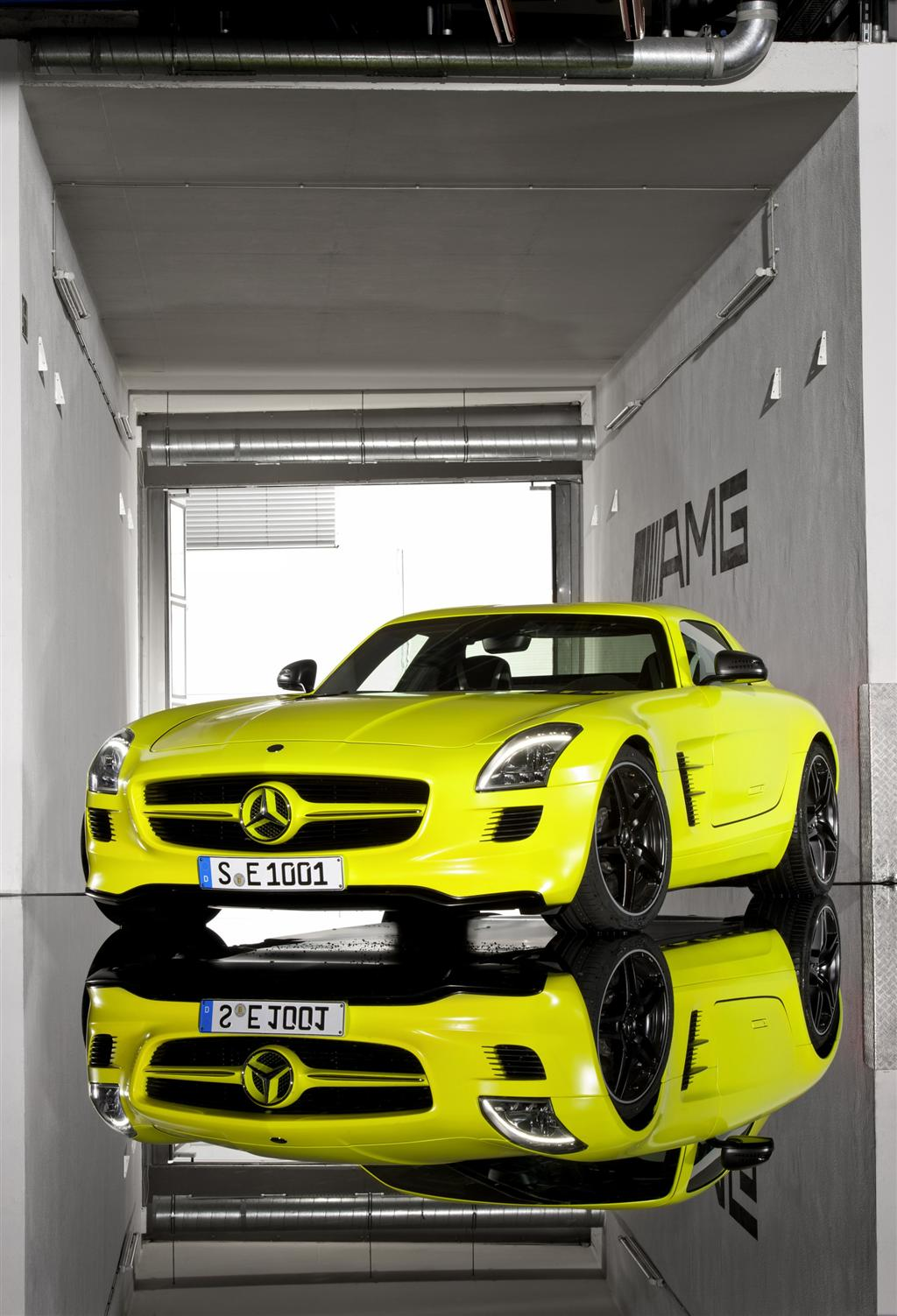 Mercedes Benz  Sls Prototype