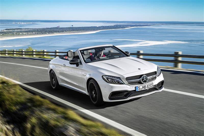 2017 Mercedes-Benz C63 AMG Cabriolet News and Information