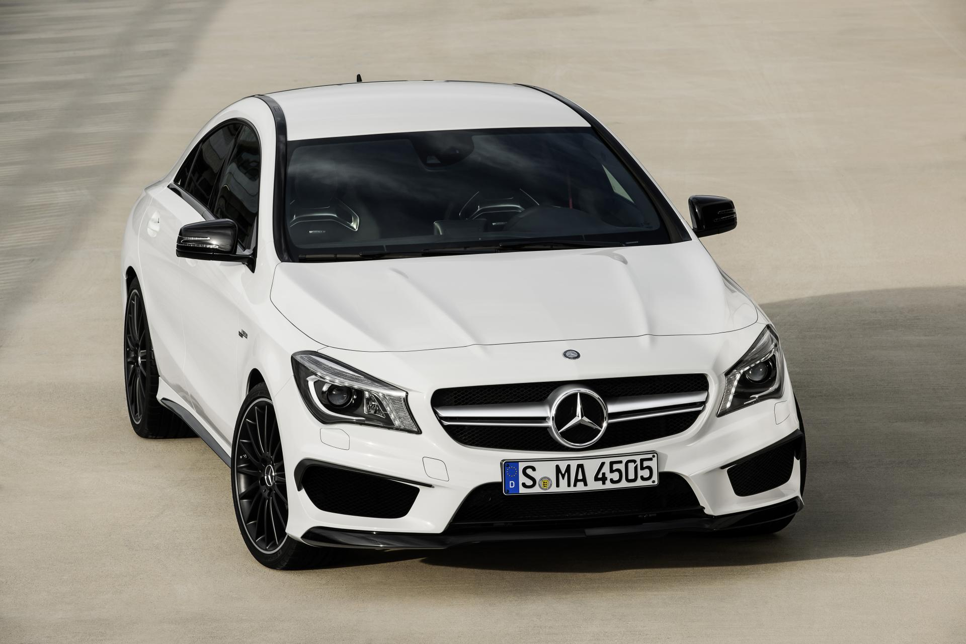2014 mercedes benz cla 45 amg news and information. Black Bedroom Furniture Sets. Home Design Ideas