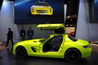 Popular 2010 SLS AMG E-Cell Prototype Wallpaper
