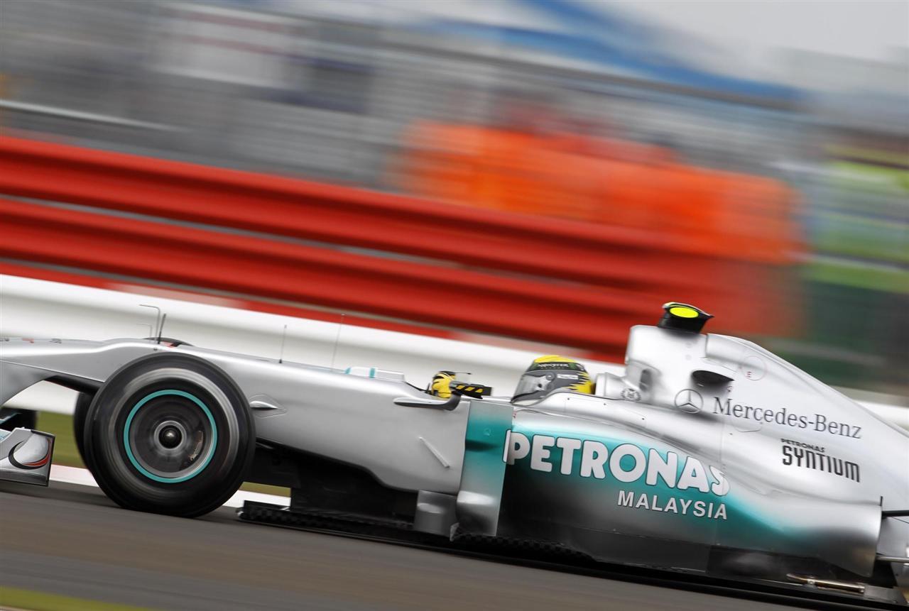 2011 Mercedes-Benz W02 Silver Arrow