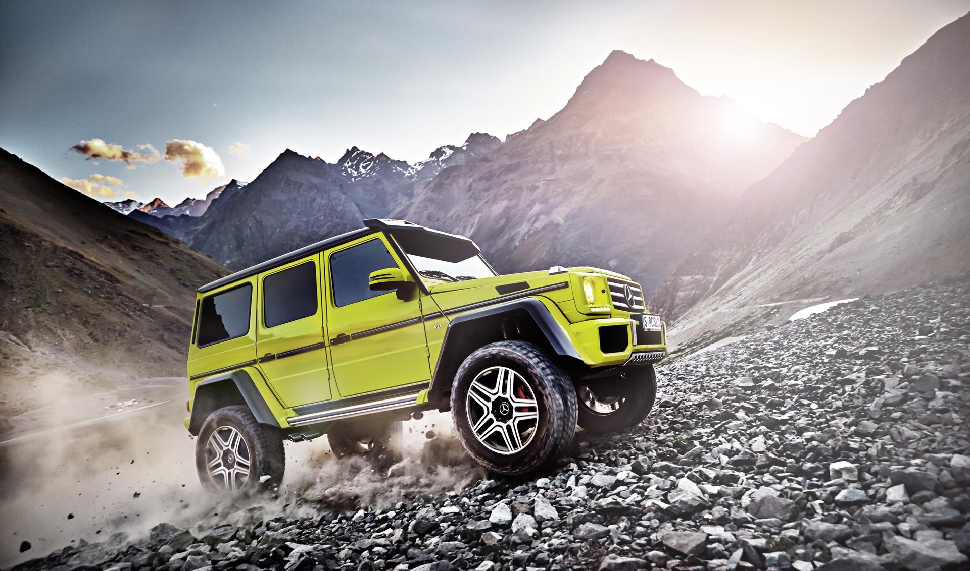 2015 mercedes benz g500 4x4 2 concept news and information for Mercedes benz 4 x 4