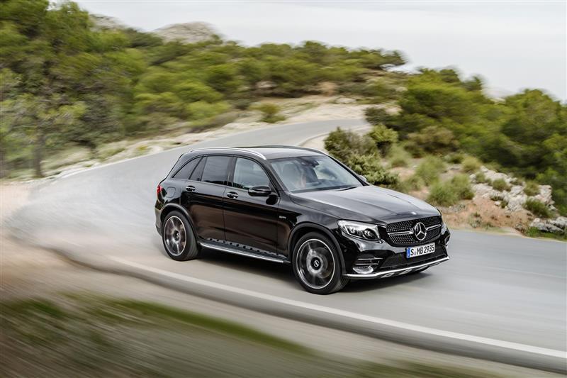 2016 Mercedes-Benz GLC43