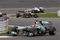 2011 Mercedes-Benz W02 Silver Arrow