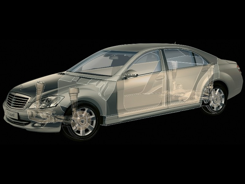 2007 Mercedes-Benz S600 Guard Image. Photo 11 of 13
