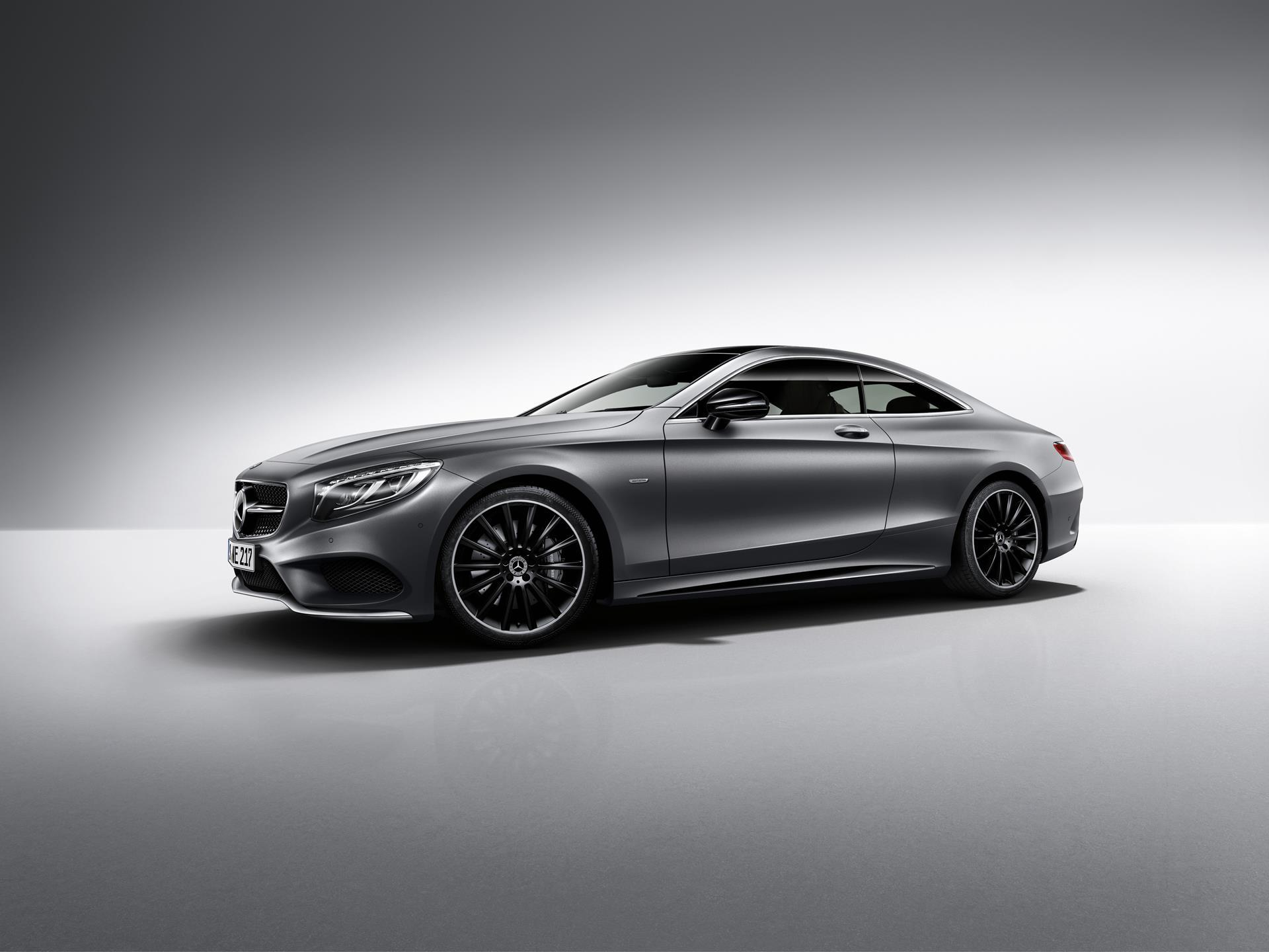2017 Mercedes Benz S Class Coupe Night Edition Wallpaper And Image