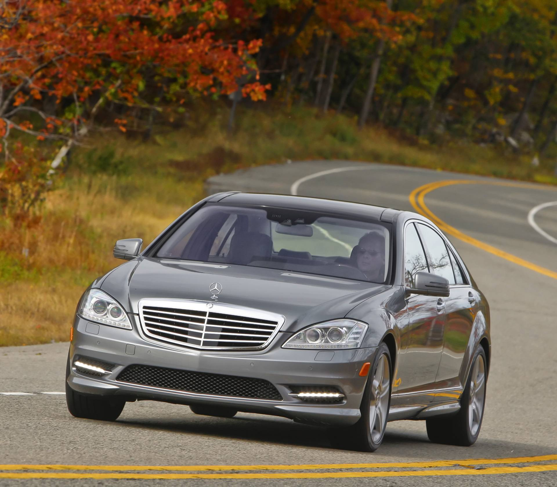 2013 Mercedes-Benz S550 News And Information
