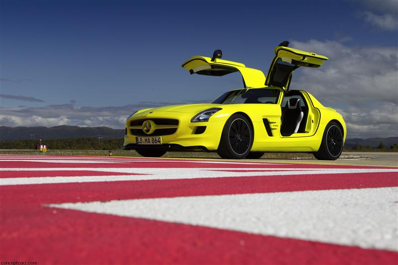 2010 Mercedes-Benz SLS AMG E-Cell Prototype