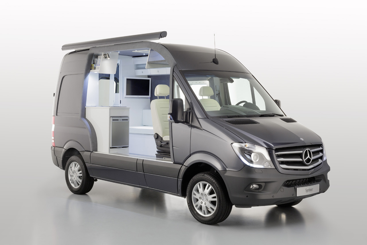 2014 mercedes benz sprinter caravan concept news and information. Black Bedroom Furniture Sets. Home Design Ideas