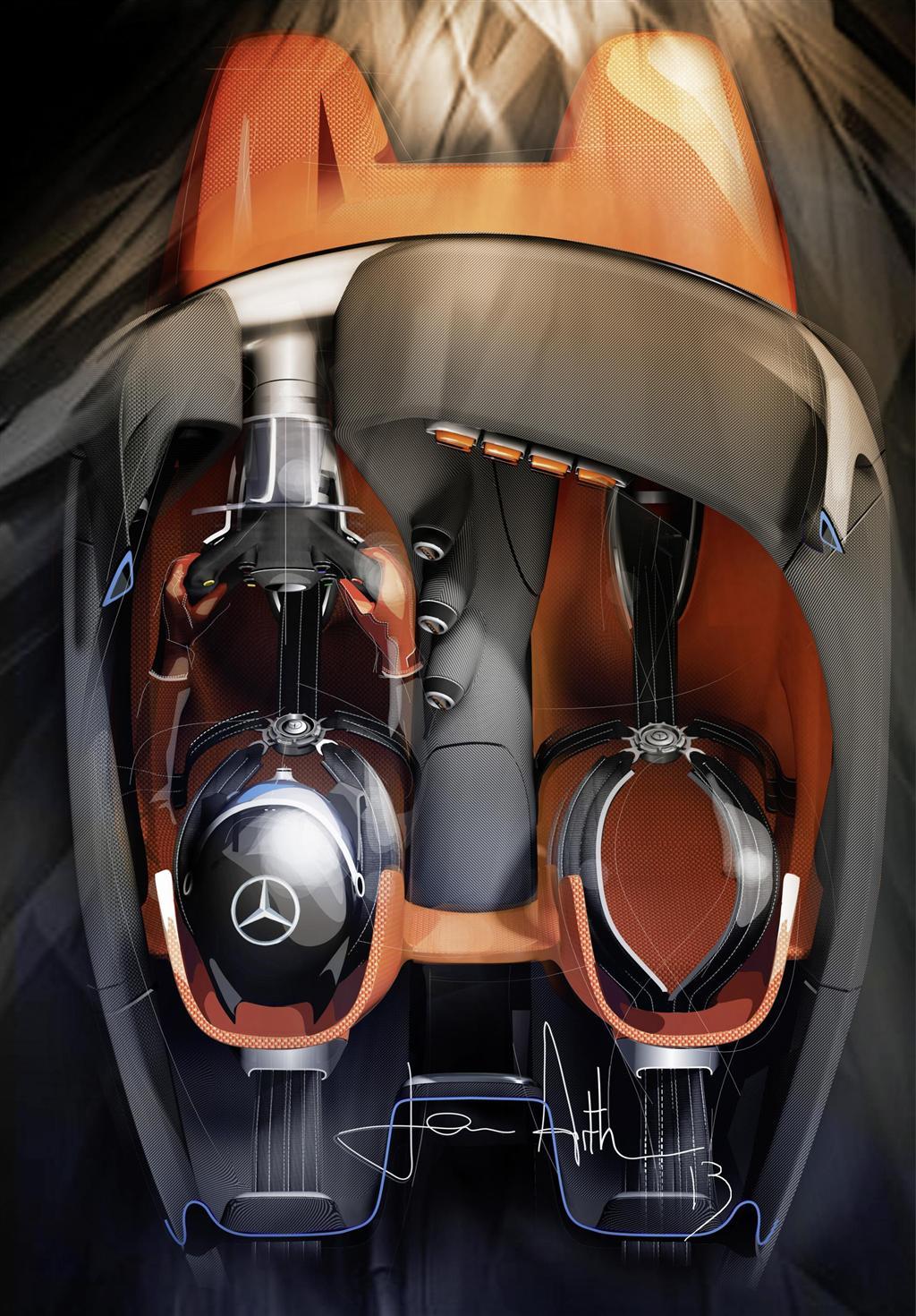 2013 Mercedes Benz AMG Vision Gran Turismo Concept