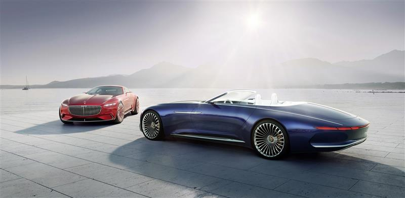 Mercedes Benz Maybach Vision 6 Cabriolet Pictures And Wallpaper