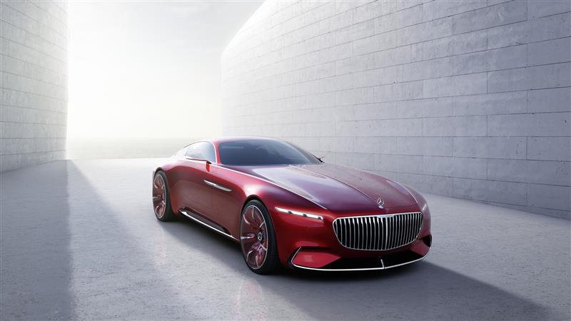 2016 Mercedes Benz Vision Maybach 6 Concept