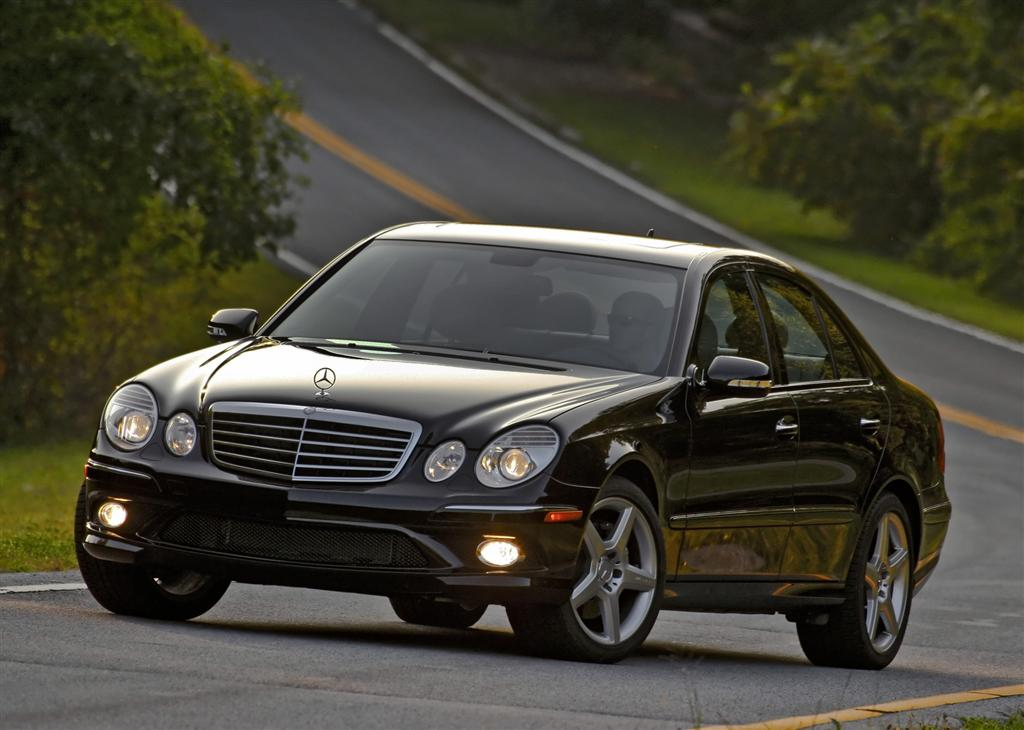 2009 mercedes benz e class for Types of mercedes benz cars