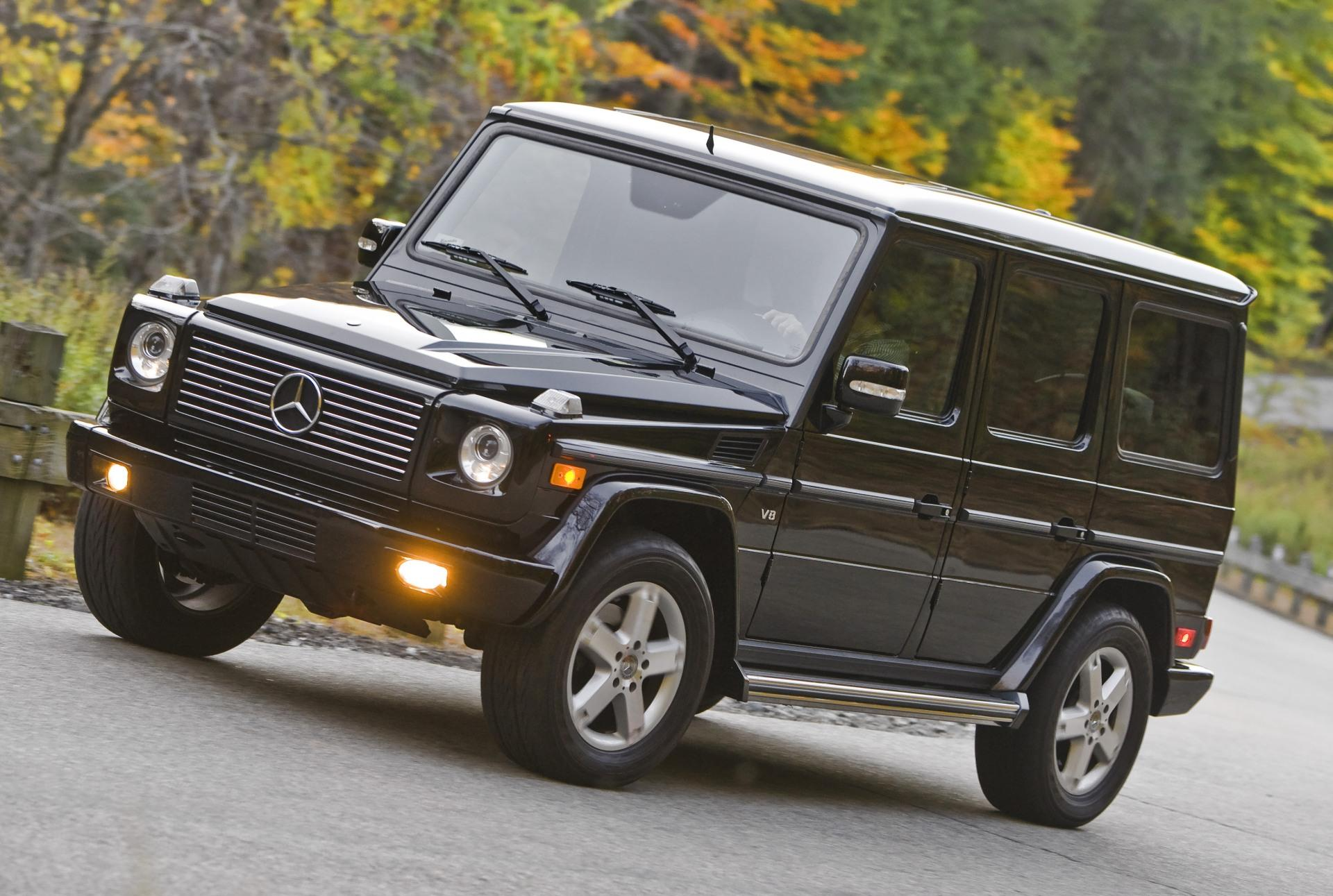 Service manual 2009 mercedes benz g class how to for Mercedes benz service g