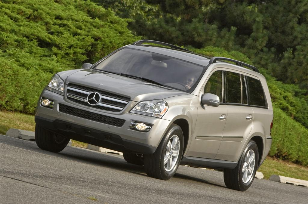 2008 mercedes benz gl class news and information. Black Bedroom Furniture Sets. Home Design Ideas