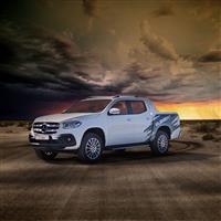 Popular 2019 Mercedes-Benz X-Class ELEMENT Desert Wallpaper
