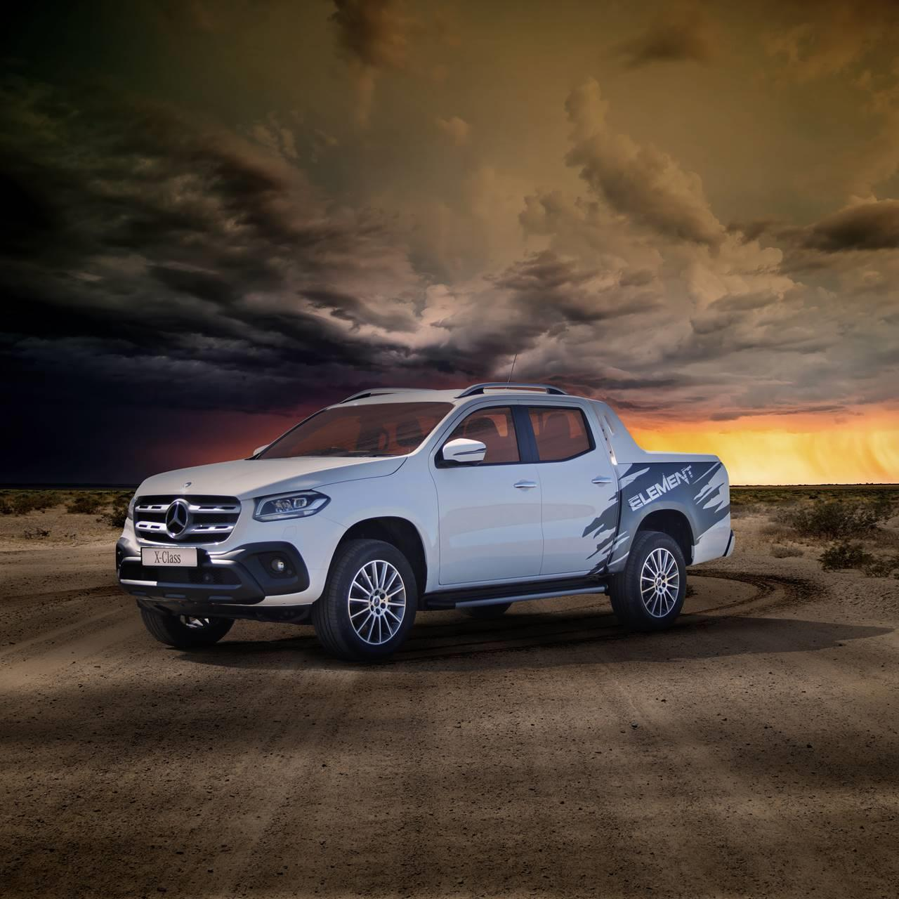 2019 MercedesBenz XClass ELEMENT Desert Wallpaper And