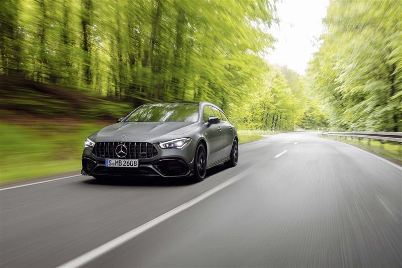 2020 Mercedes Benz Amg Cla 45 Shooting Brake News And