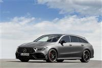 Image of the AMG CLA 45 Shooting Brake