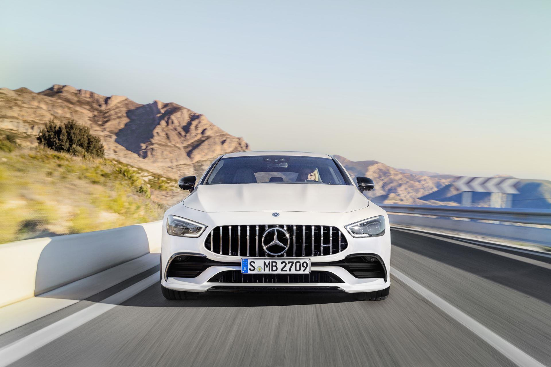 2018 Mercedes-Benz AMG GT 4-Door Coupe
