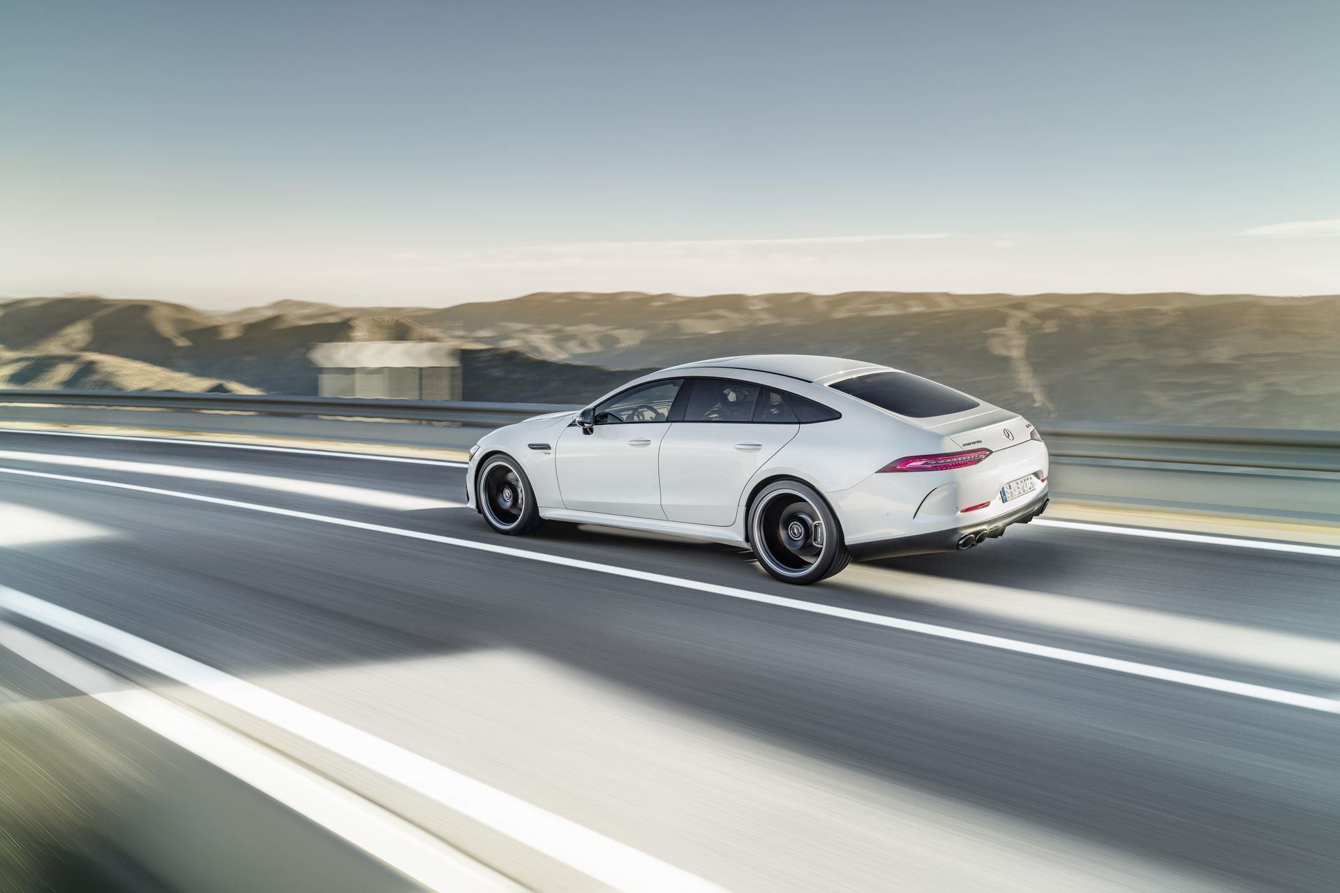 2018 Mercedes-Benz AMG GT 4-Door Coupe