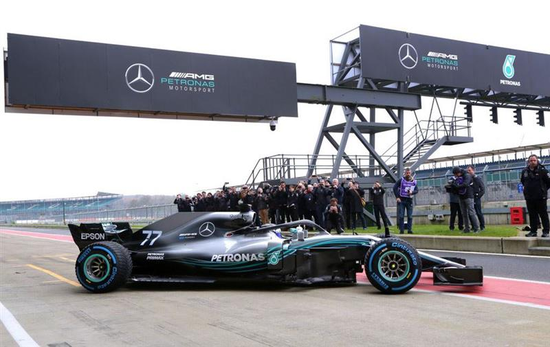 2018 Mercedes-Benz W09 EQ Power