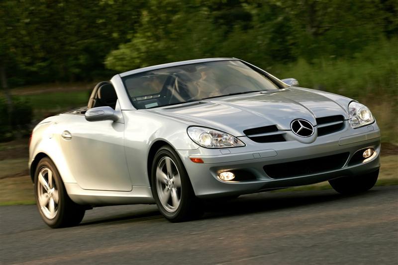 2007 Mercedes-Benz SLK 280 History, Pictures, Value, Auction Sales ...