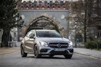Mercedes-Benz GLA-Class Monthly Vehicle Sales