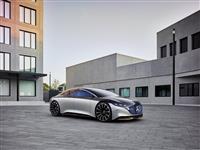 Popular 2019 Mercedes-Benz Vision EQS Show Car Wallpaper