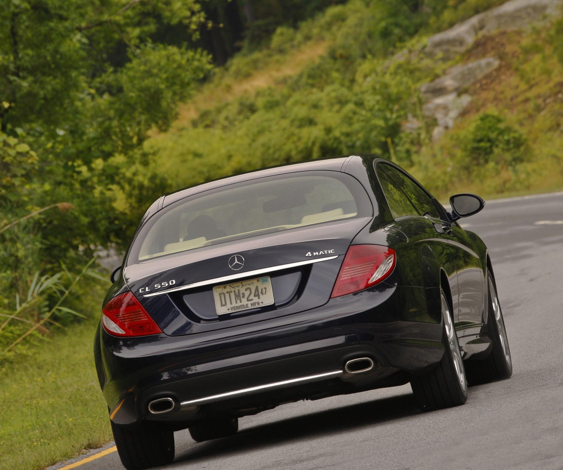 2009 Mercedes-Benz CL 550