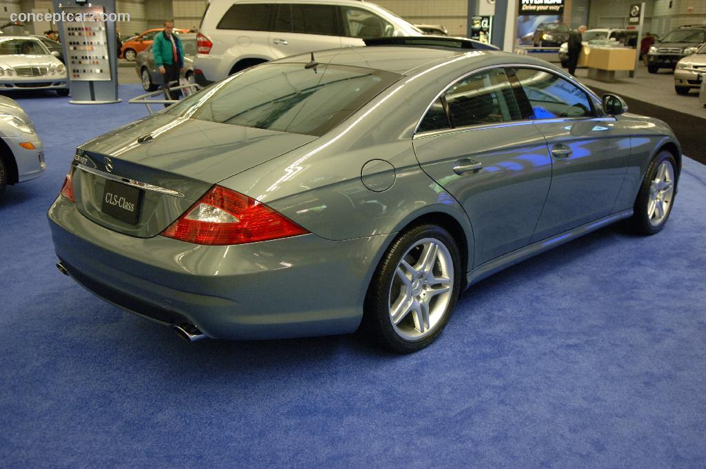 Auction Results And Sales Data For 2006 Mercedes Benz Cls Class Barrett Jackson At Scottsdale