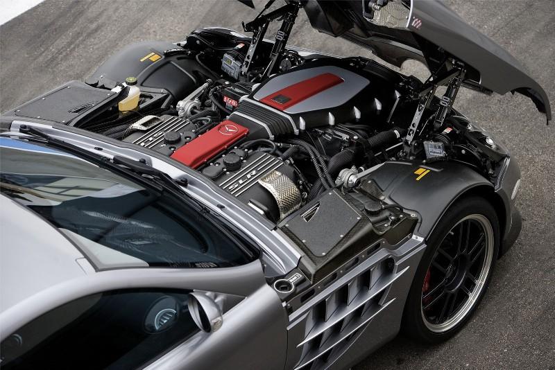2006 McLaren SLR 722 Edition
