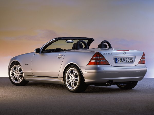 Auction results and data for 2003 mercedes benz slk 230 for Mercedes benz slk230 kompressor