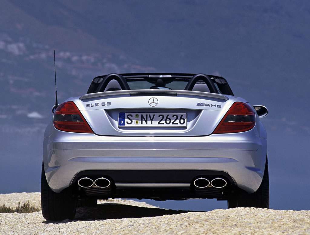 Auction Results And Sales Data For 2005 Mercedes Benz Slk 55 Amg