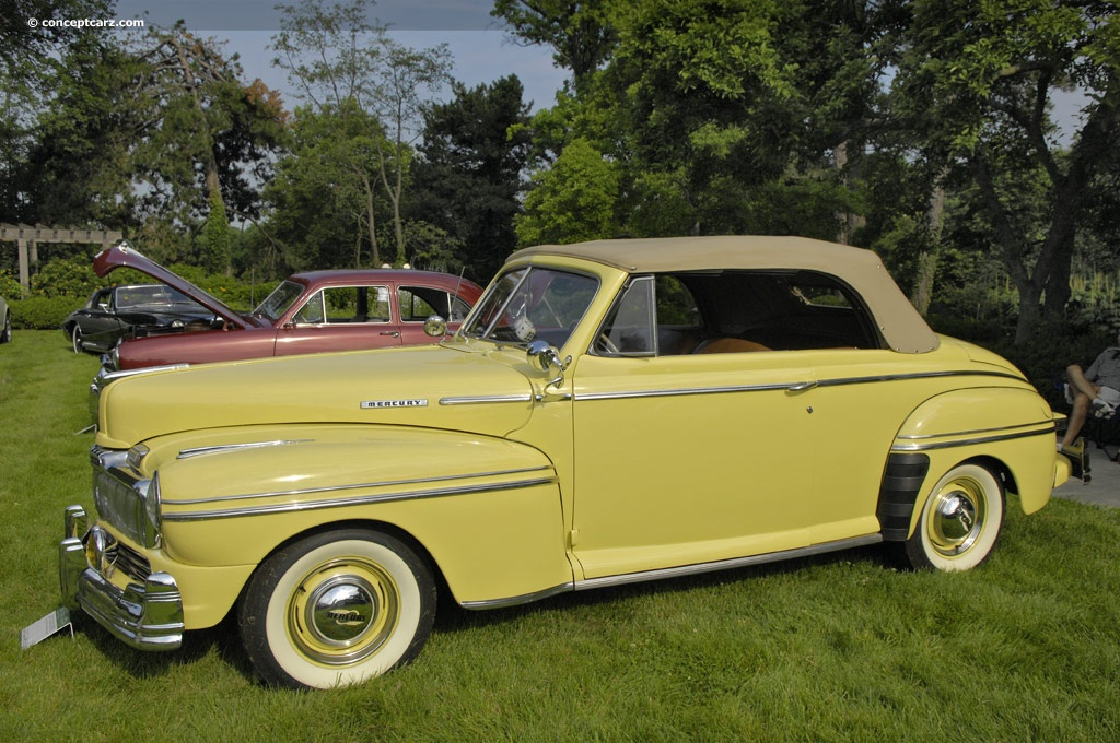 1948 Mercury Series 89m Pictures History Value Research