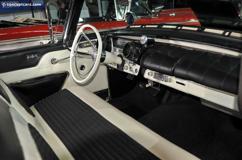 1957 Mercury Turnpike Cruiser At The Gooding And Company