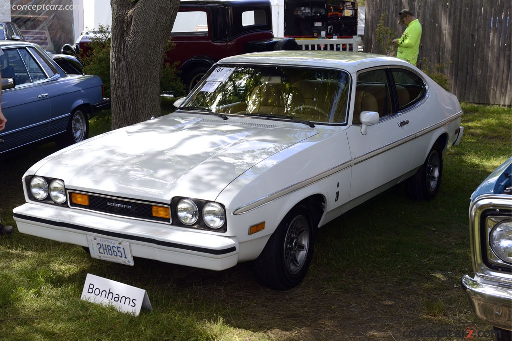1976 Mercury Capri Pictures History Value Research