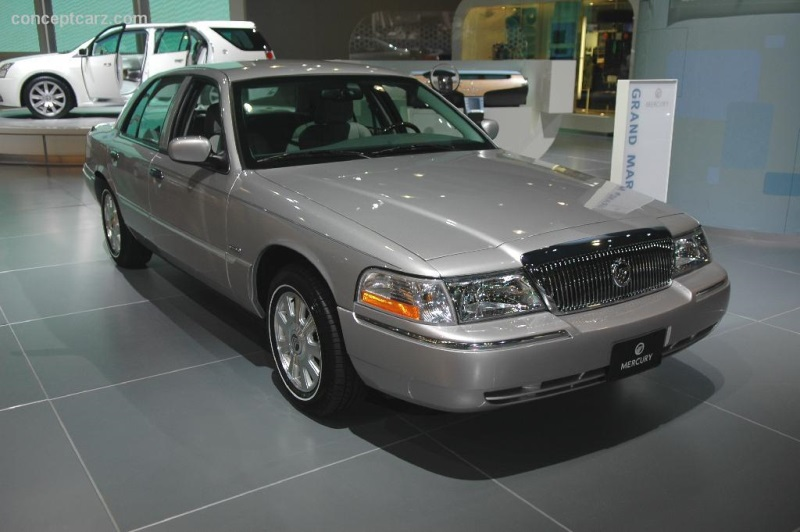 2005 Mercury Grand Marquis History Pictures Value Auction Sales