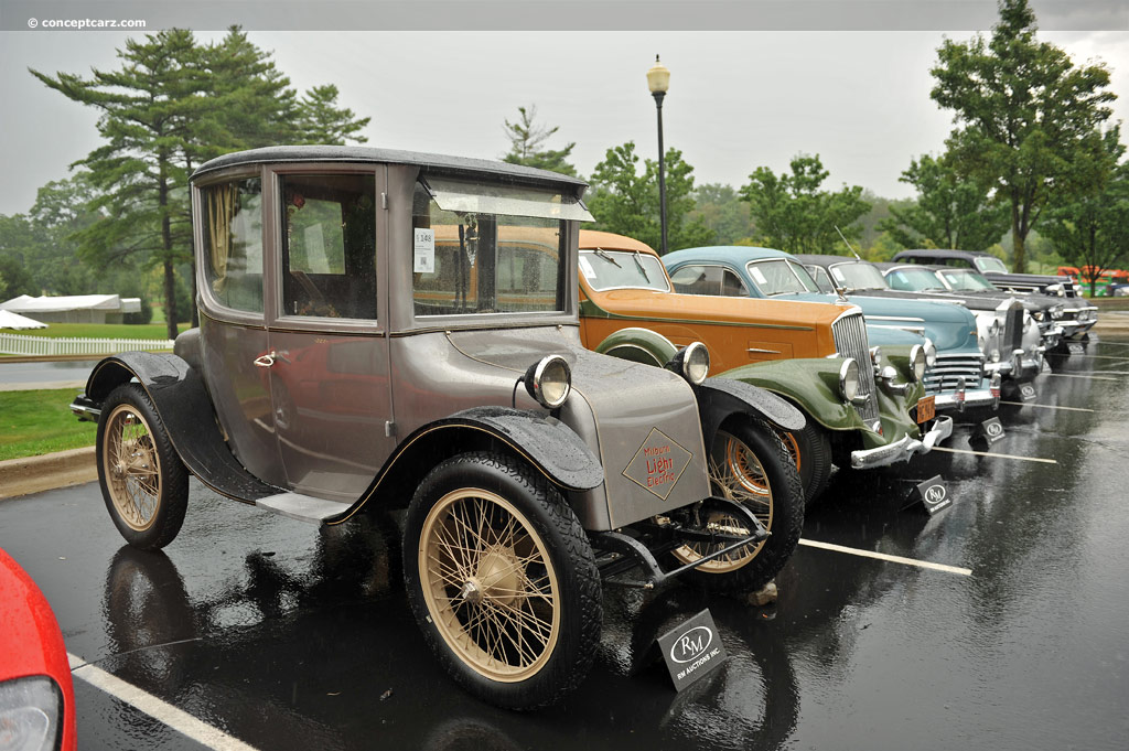 1922 Milburn Electric Model 27L Pictures, History, Value, Research ...