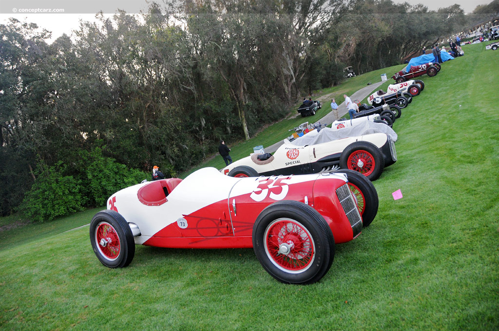 1935 Miller Ford Indy Car History, Pictures, Value ...