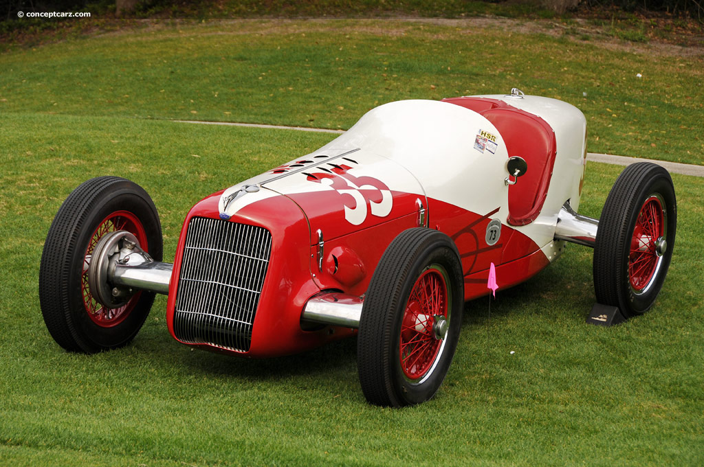 Auction Results and Sales Data for 1935 Miller Ford Indy Car