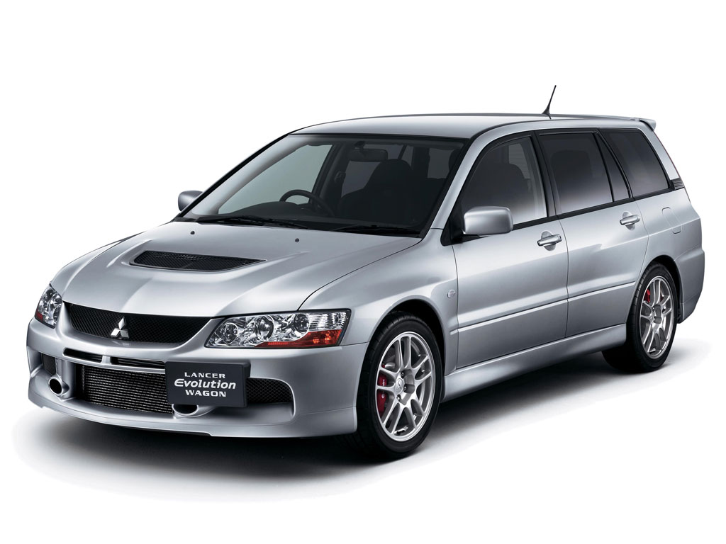 2006 Mitsubishi Lancer Evolution Wagon History, Pictures, Value ...