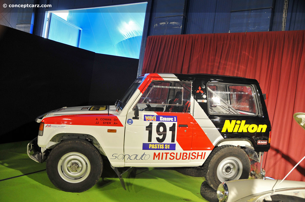1984 Mitsubishi Pajero History Pictures Value Auction Sales Research And News