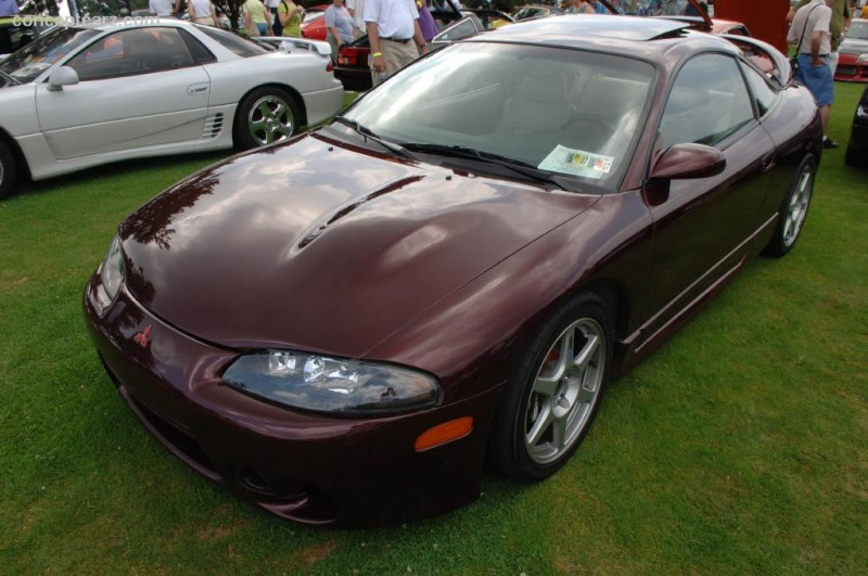 1998 mitsubishi eclipse history, pictures, value, auction sales