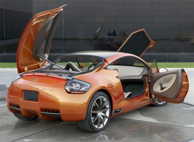 2004 Mitsubishi Eclipse Concept E Image Photo 13 Of 65