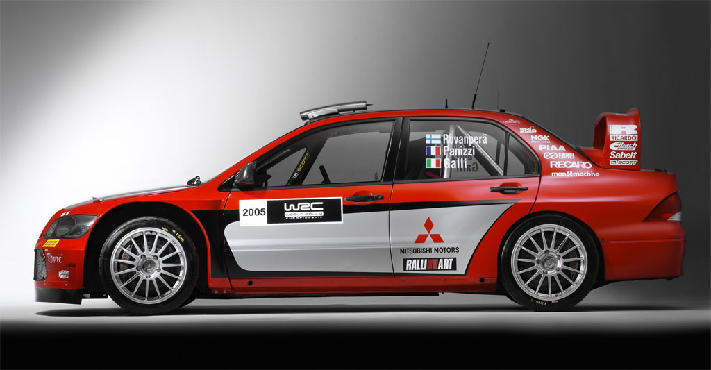 2005 Mitsubishi Lancer WRC05 Pictures, History, Value, Research ...