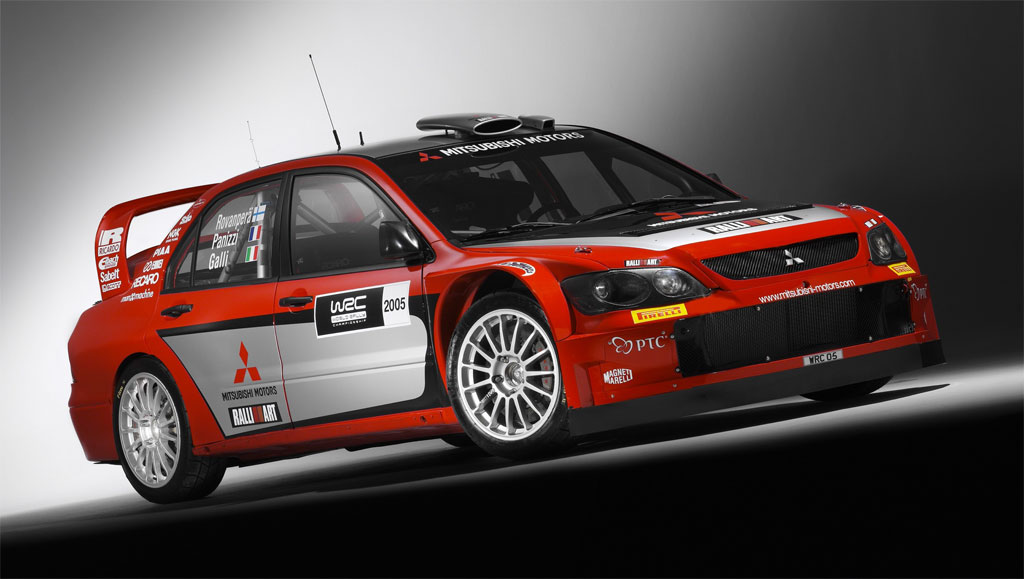 2005 Mitsubishi Lancer WRC05 Image. Photo 12 of 15