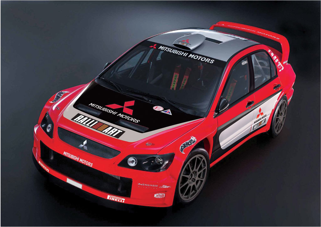 2005 Mitsubishi Lancer Wrc05 Image Https Www Conceptcarz Com Images Mitsubishi Mitsubishi