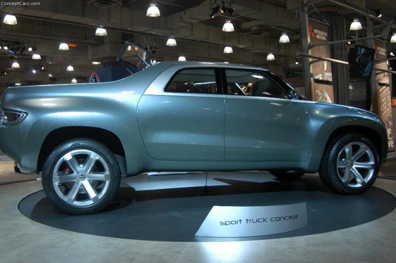 2004 Mitsubishi Sport Truck Concept Image Photo 40 Of 56