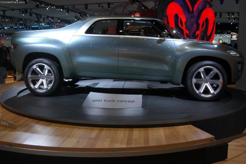 2004 Mitsubishi Sport Truck Concept Image Photo 46 Of 56
